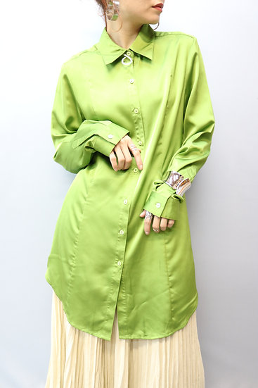 design blouse / green tea
