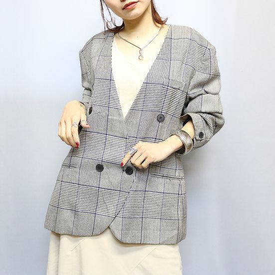design jacket  / グレンチェック