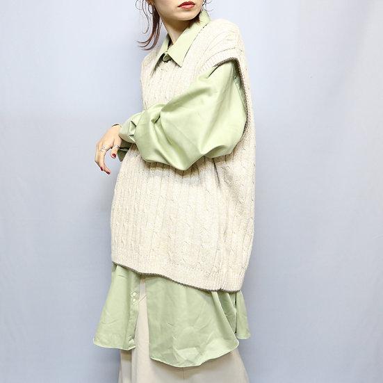 design knit sewater  / BEG
