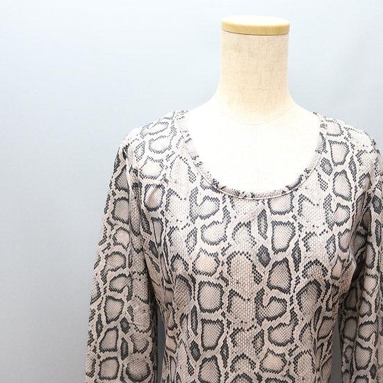 print design tops / snake