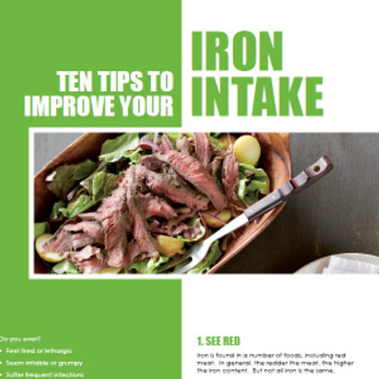 10 Tips to Improve Your Iron Intake