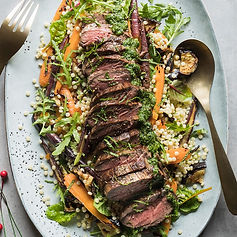 Barbecued-Eye-Fillet-with-Carrots%2C-Egg