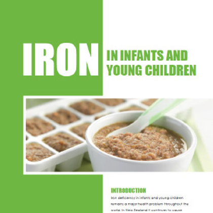 Iron in Infants & Young Children