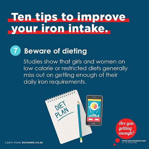 Beware of dieting