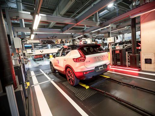 Bij Volvo Car Gent loopt het op rolletjes
