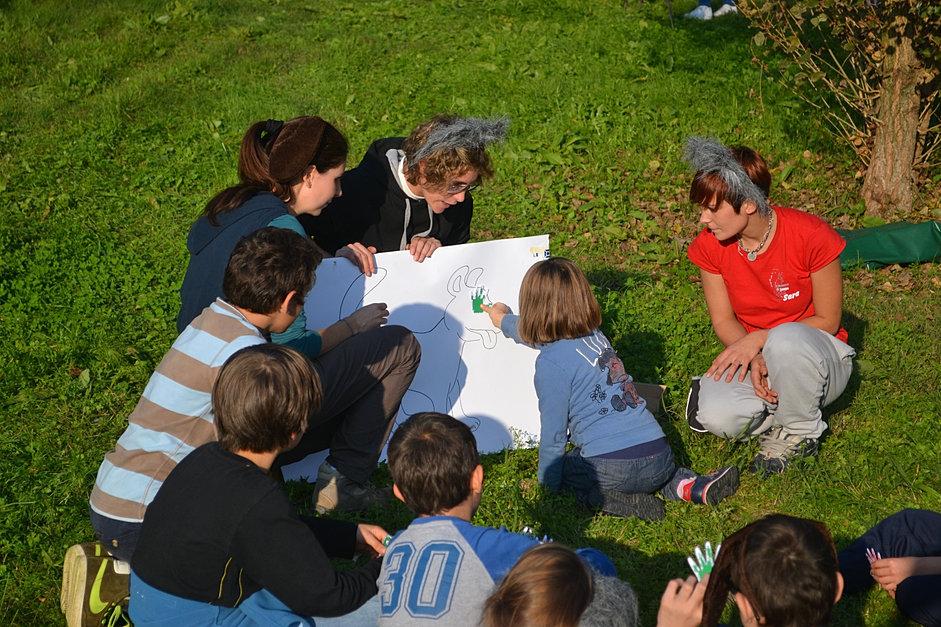 Favorito Attività ricreative per bambini e anziani OS66
