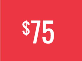 $75  Color Run Donation