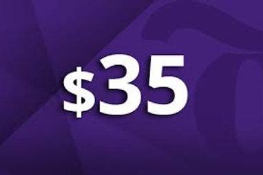 $35 Color Run Donation