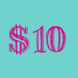 $10 Color Run Donation