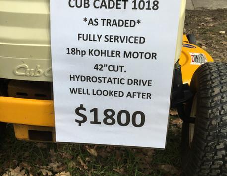 CUB CADET LT1018