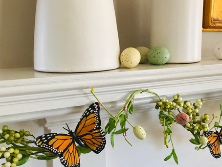 Easy breezy spring decorating!