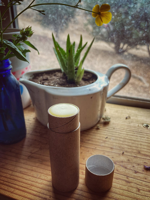 Lavender + Elderflower Lip Balm