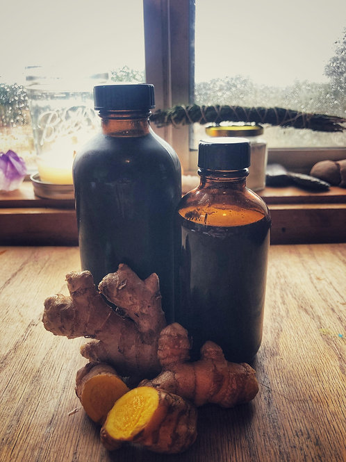 Turmeric + Ginger Syrup