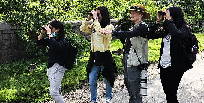 Birding Their Way to the Clinic