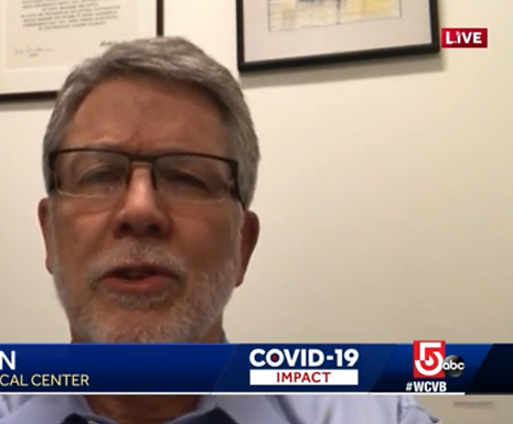 Mass. doctor on how common COVID-19 re-infection is