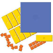 Ten Fram Tiles Math Manipulatives