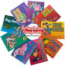 Articulation Storybooks for Speech Students