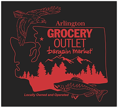Arlington Grocery Outlet with Fish and E