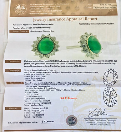 Appraisal And Gem Assessment Report For Our Items