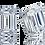 Thumbnail: Any Color 14K Gold Emerald Cut CZ Stud Earrings
