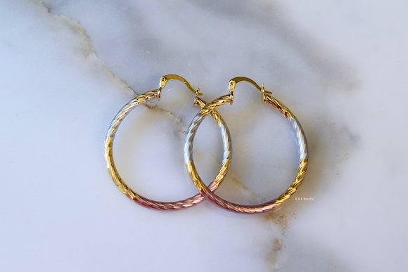 Tricolor Tube Hoops