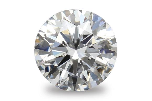 EGL 1.08 Carat Round Brilliant Cut F Color SI1 Clarity Diamond