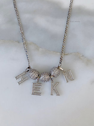 2 To 4 Letter Necklace