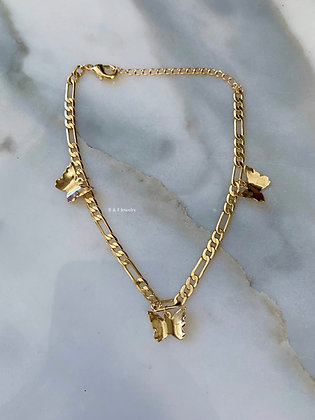 Butterfly Small Anklet Or Bracelet