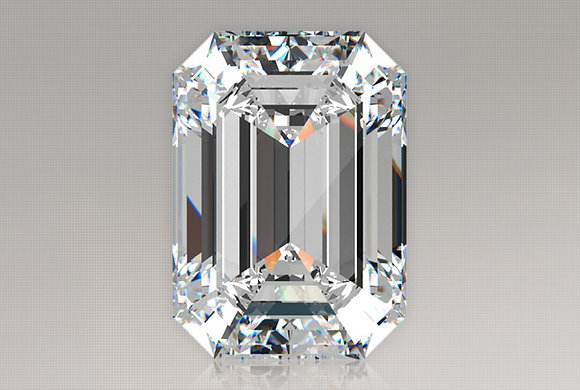 GIA Certified Emerald Cut 1.28 Carat VS1 F Diamond: 1000's Of Settings Available