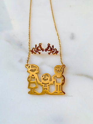 Family Jewelry Set In Multiple Styles