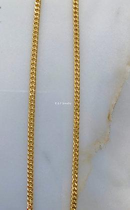 Gold Dipped Curb Chain