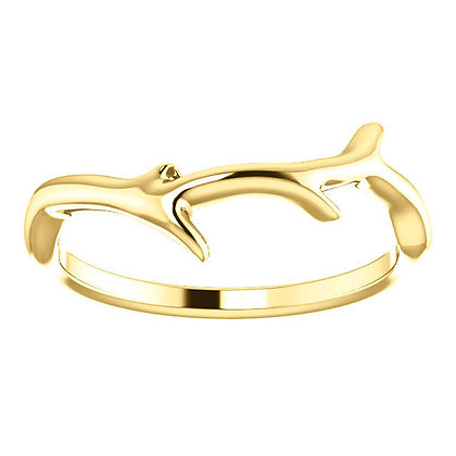 Any Color 14K Gold Branch Band- Has Necklaces