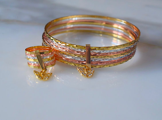 Butterfly 7 Day Bangle And/Or Ring