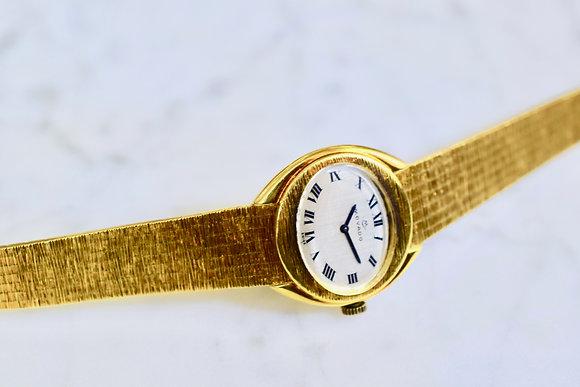 Vintage 18K Yellow Gold Movado Lady's Wristwatch