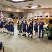 Boy Scouts Birthday!