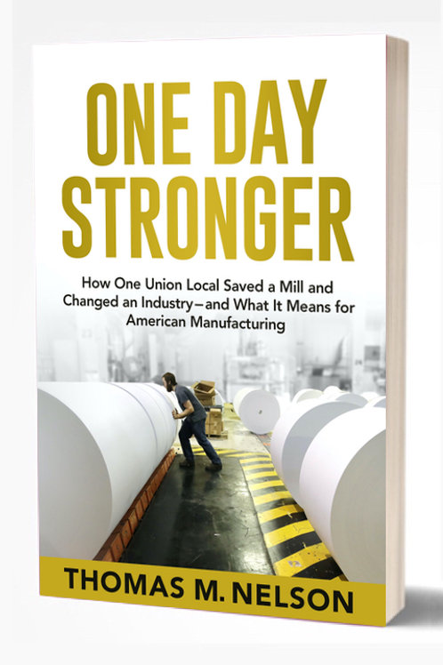 ONE DAY STRONGER by Thomas M. Nelson