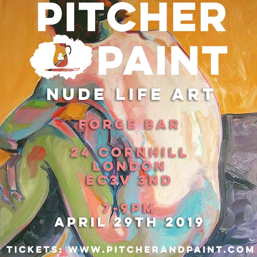 Pitcher & Paint: Life Art Class 2019