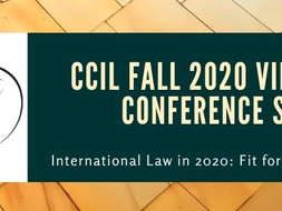 CCIL Fall 2020 Virtual Conference Series - Program Available