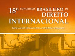 18th Brazilian Congress of International Law - 26-29 August, 2020