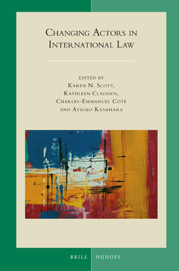 Publication from the 2018 Four Societies Conference - Changing Actors in International Law