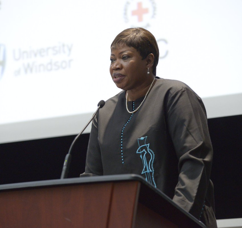 ICC Prosecutor delivers keynote. We must strengthen global accountability for atrocity crimes