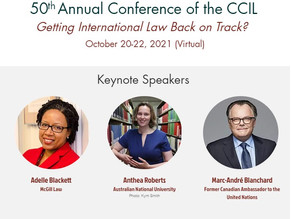 2021 Annual Conference - Program and Registration now available.