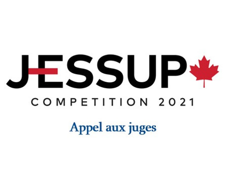 Compétition Jessup 2021 - Appel aux juges