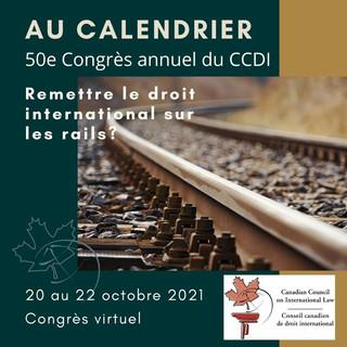 Congrès annuel 2021 du CCDI