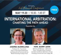 ILA-Canada Biennial Conference - International Arbitration: Charting the Path Ahead