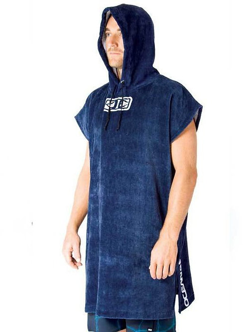 Mens Corp Hooded Poncho
