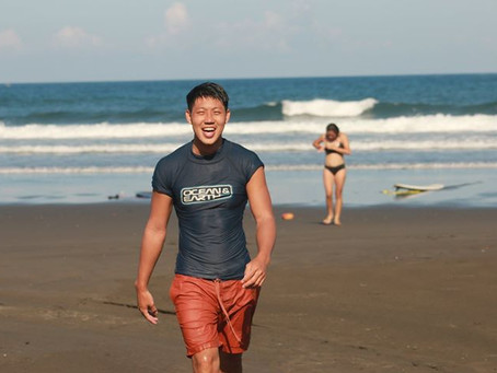 利奇馬颱風衝浪