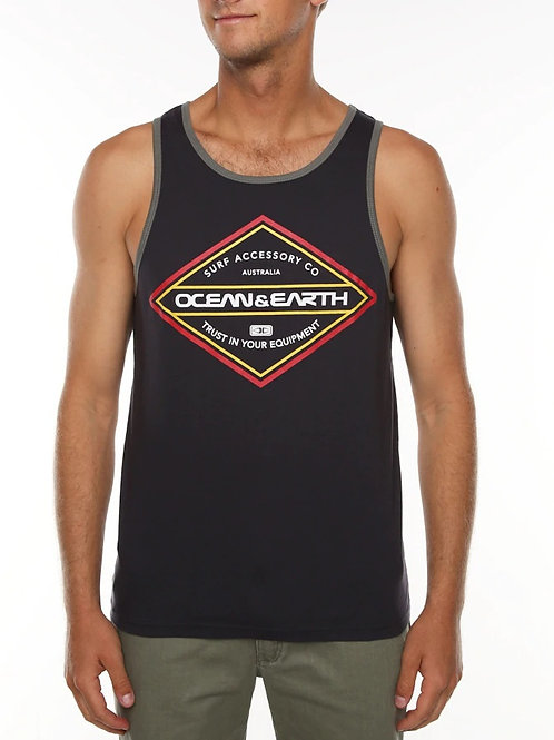 Mens Diamond Singlet