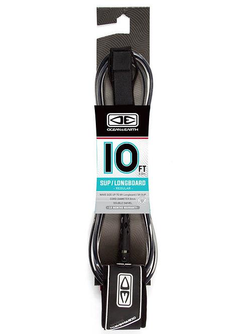 Regular SUP / Longboard 10ft  Moulded Leash