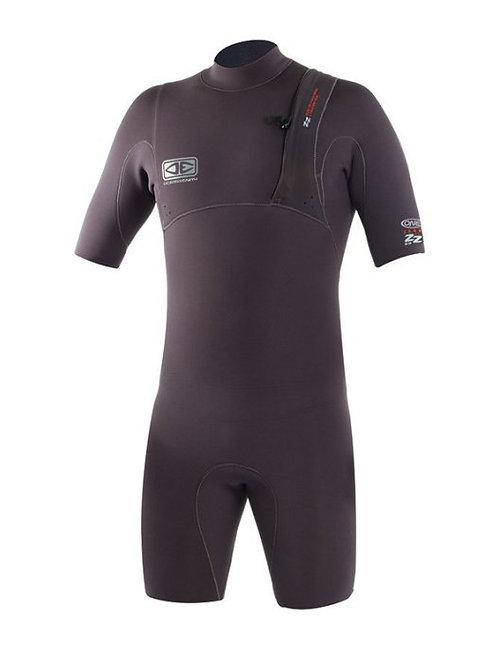 OCEAN&EARTH2/2mm潛水衣 短袖短褲 防寒衣/游泳衣/衝浪衣/禦寒 風帆 溯溪 保暖 SUP 釣魚